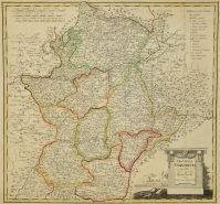 Mapa de extremadura de 1791